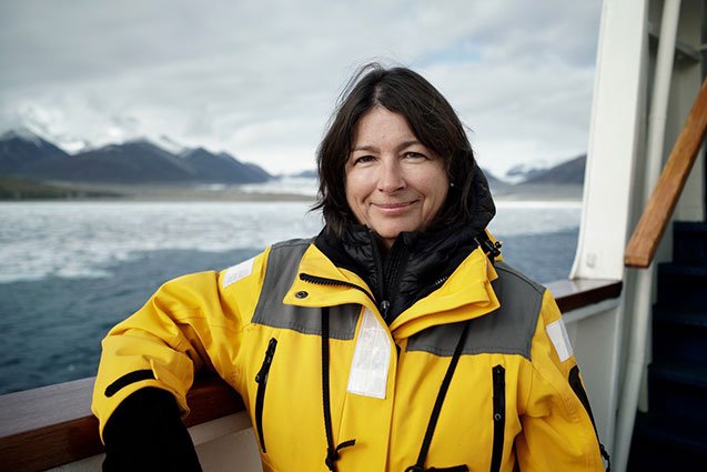 Paleoclimatologist Maureen Raymo has been named director of the Lamont-Doherty Earth Observatory, as well as one of four co-founding deans of the Columbia Climate School. Photo: Garry Tutte/SOI Foundation