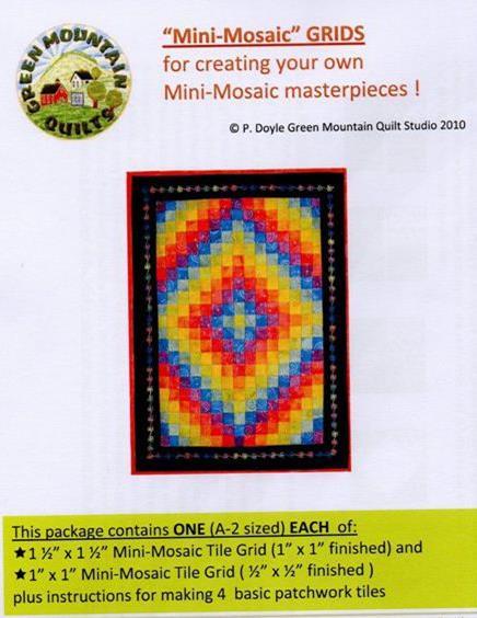 Mini Mosaic Grids from Paula Doyle