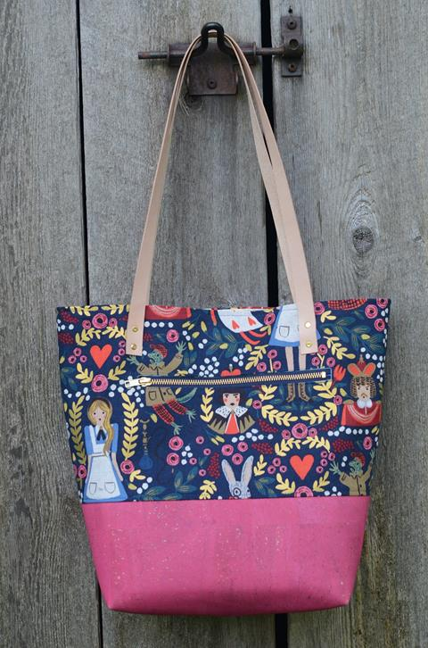 Level Two Tote Bag pattern – A Poppyprint Pattern