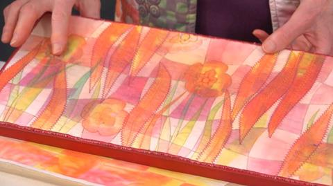 Paper Weaving and Transfer Painting with Mary Gamester
