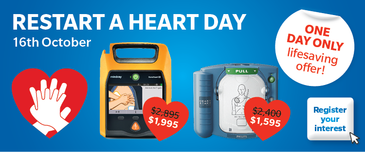 Restart a Heart Day offer for the 16th October 2018