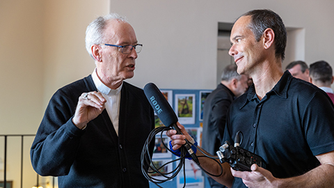 Eric Martin with Bishop Don Sproxton