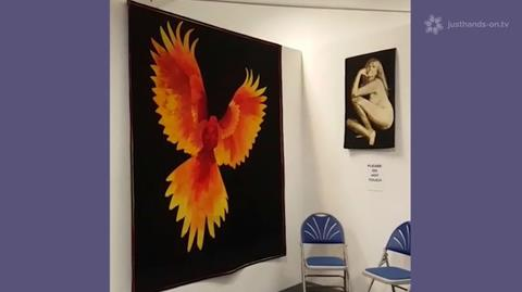 Facebook Live from West Country Quilt and Textile Show 2016