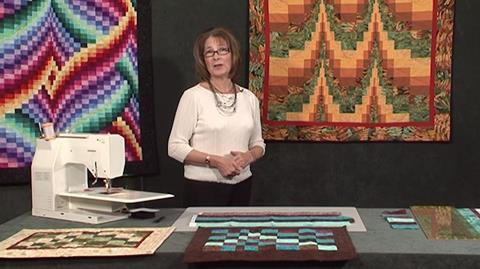 Bargello Tablemat with Valerie Nesbitt