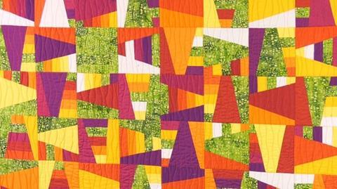Rattle Modern quilt with Helen Butcher