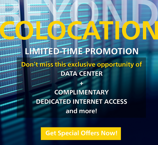 Special Offer at Hong Kong Tai Po Data Center