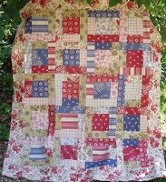 Scrap Quilt with Valerie Nesbitt