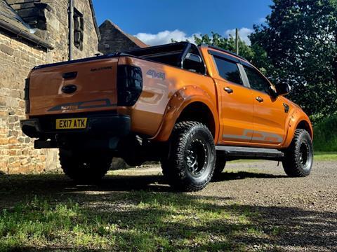 2017Ford Ranger Wildtrack Orange 3