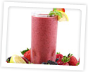 Photo of: Berry Smoothie Breakfast