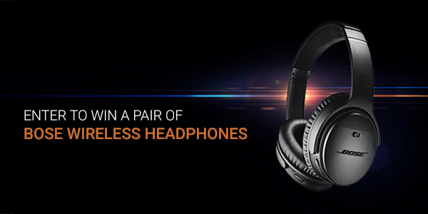 5-minute survey: Enter to win a pair of Bose headphones