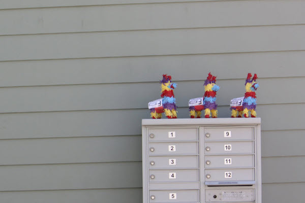 THANKFULLY THERE'S A STARTUP SPECIALIZING IN MINIATURE PIÑATA DELIVERIES