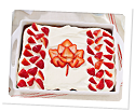 Photo of Canada Day Cake