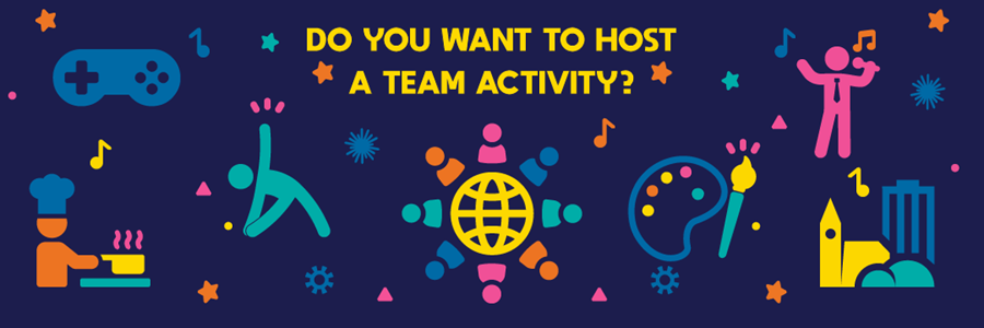 """img: """"Do you want to host a team activity?"""""""