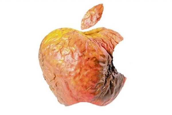 HAS APPLE FINALLY LOST ITS SHEEN?