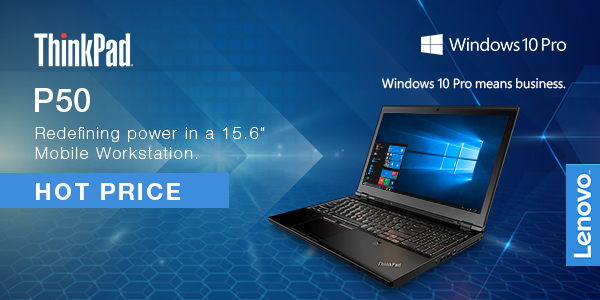 """Redefining Power in a 15.6"""" Mobile Workstation"""