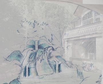 Garden Sketch #3