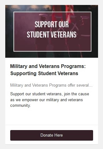 Military and Veterans Programs