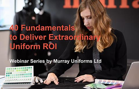 Murray Uniforms upcoming webinar: How do I deliver a sustainable uniform programme?