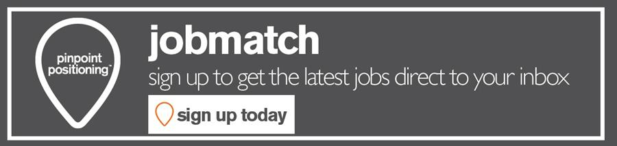 sign up to job match to get roles straight to your inbox