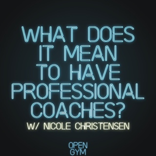 What Does it Mean to have Professional Coaches?