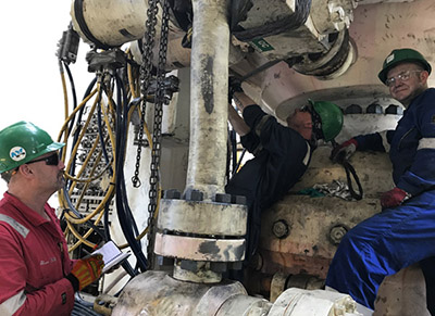 ADC has over 30 years experience in Rig Inspection Worldwide