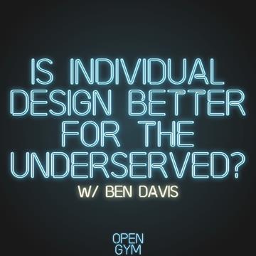 Ben Davis Talk about Training Underserved Communities