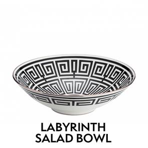 Labyrinth Salad Bowl