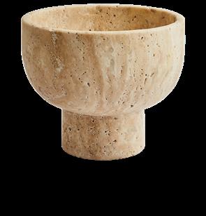 Oscar Travertine Bowl