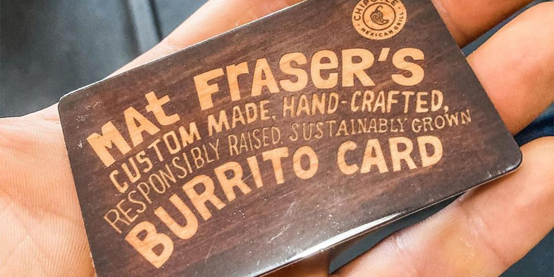 Free Chipotle For a Year For Four-Time Fittest on Earth