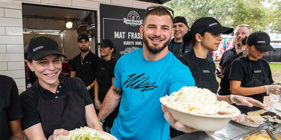 """Chipotle Delivers """"The Fittest"""" Meals On Earth During COVID-19"""
