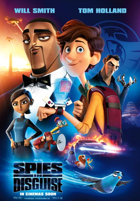 Watch the Spies in Disguise Trailer