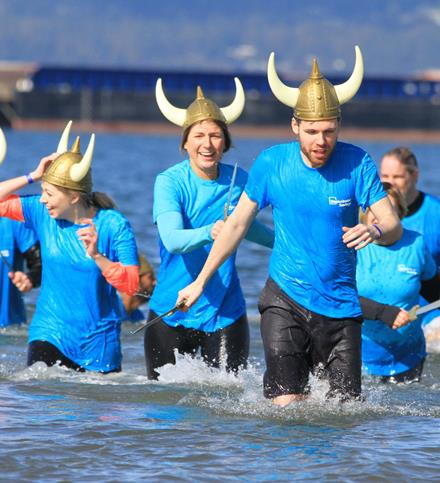Polar Plunge for SOBC