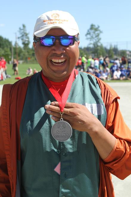 Special Olympics BC Summer Games medallist