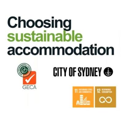 Choosing sustainable accomodation webinar