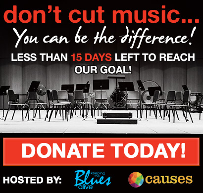 Bonamassa Fans: Help Us Keep The Blues Alive! Don't cut the music. You can be the difference! Less than 15 days left to reach our goal. Donate $10 today and help us raise $5,000 by the end of October to Keep The Blues Alive in Classrooms all around the U.S.! Click here to donate now!