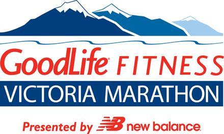 GoodLife Fitness Victoria Marathon logo