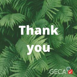 GECA Board - thank you