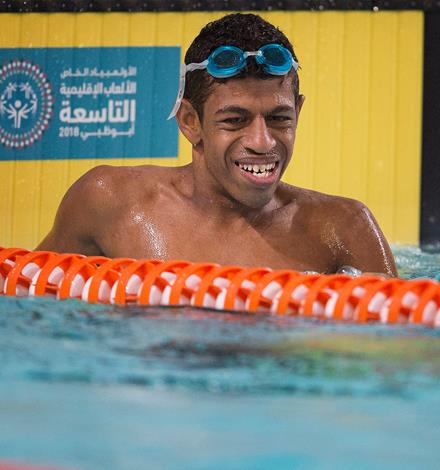 Special Olympics MENA Games competitor
