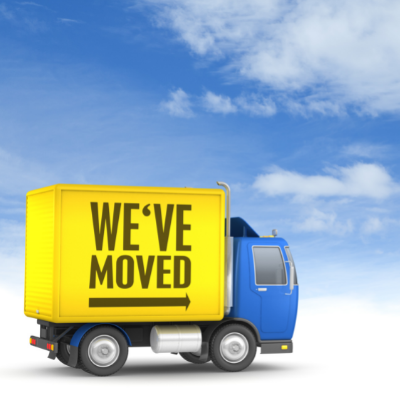 We've Moved Office