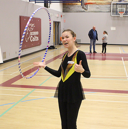 Team BC 2018 Training Squad rhythmic gymnast Katherine Burns