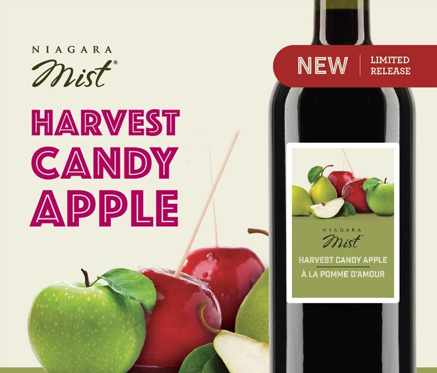 Limited Time Only! Niagara Mist Harvest Candy Apple!