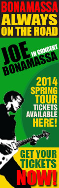 Bonamassa Always on the Road. Joe Bonamassa in concert. 2014 Spring tickets available here! Get your tickets now!