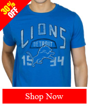 Tribut Apparel - NFL DETROIT LIONS KICK OFF CREW (MEN)