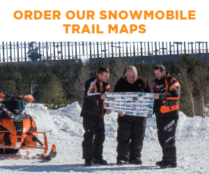 Order our snowmobile trail maps