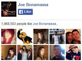 Joe Bonamassa on Facebook. 1,968,503 people like Joe Bonamassa. Yay!