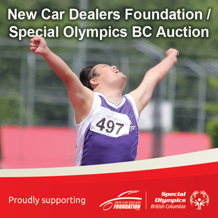 New Car Dealers Foundation / Special Olympics BC Auction