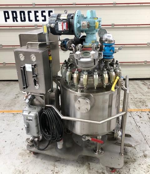 136 Liter Pfaudler Hastelloy Mobiler Reaktor mit Doppelmantel