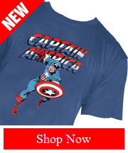 Tribut - NEW Captain America - Red, White and Blue Tee