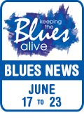 Keeping The Blues Alive brings you Blues News. Week of June 17th to 23rd.