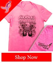 JB Pink Komen Vintage tee